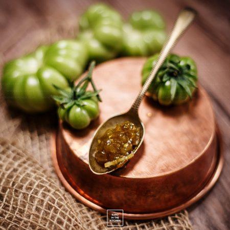 Dżem z zielonych pomidorów – z cytryną i imbirem